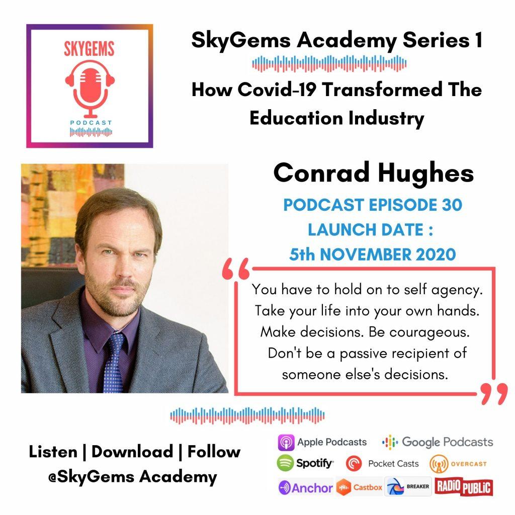 podcast conrad hughes